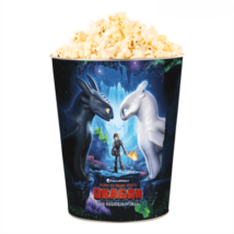 Így neveld a sárkányodat 3 dombornyomott popcorn vödör