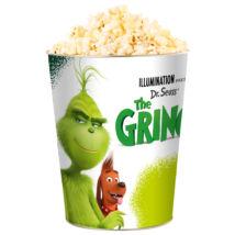 A Grincs dombornyomott popcorn vödör