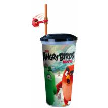 Angry Birds - A film pohár szívószállal pörgethető Red figurával