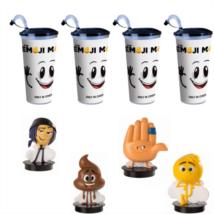 Az Emoji-film pohár és topper szett