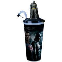 Batman Superman ellen - Az igazság hajnala pohár és Batman topper