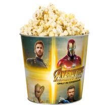 Bosszúállók: Végtelen háború dombornyomott popcorn vödör