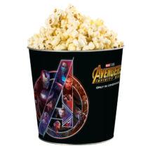 Bosszúállók: Végtelen háború dombornyomott popcorn vödör (Sötét színű)
