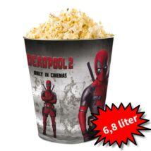 Deadpool 2 giga dombornyomott popcorn vödör (6,8 literes)