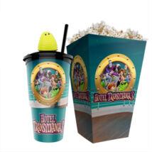 Hotel Transylvania 3. - Szörnyen rémes vakáció pohár, Blobby topper és popcorn tasak