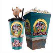 Hotel Transylvania 3. - Szörnyen rémes vakáció pohár, Murray topper és popcorn tasak