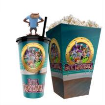 Hotel Transylvania 3. - Szörnyen rémes vakáció pohár, Wayne topper és popcorn tasak