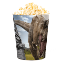 Jurassic World: Bukott birodalom dombornyomott popcorn vödör