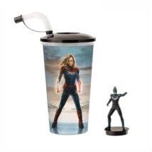 Marvel Kapitány pohár és Carol Danvers topper