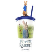 Nyúl Péter pohár, Nyúl Péter topper és popcorn tasak (színes pohár)