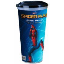 Pókember: Hazatérés pohár, topper és popcorn tasak szett