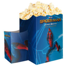 Pókember: Hazatérés popcorn tasak pohártartóval