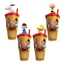 Snoopy és Charlie Brown - A Peanuts film pohár és topper szett