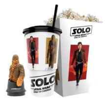 Solo: Egy Star Wars-történet pohár, Chewbacca topper és popcorn tasak