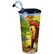 Thor: Ragnarök pohár és topper szett popcorn tasakokkal