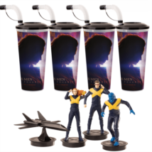 X-Men: Sötét Főnix pohár és topper szett