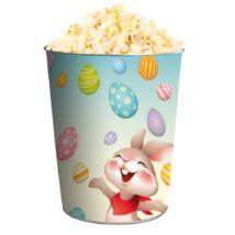 Húsvéti dombornyomott popcorn vödör