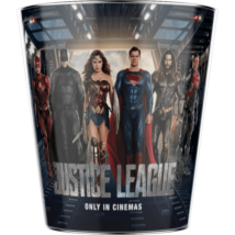 Az Igazság Ligája dombornyomott popcorn vödör - A karakterek III.