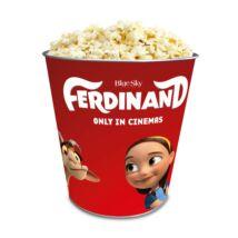 Ferdinánd dombornyomott popcorn vödör