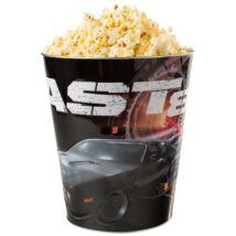 Halálos iramban 8 dombornyomott popcorn vödör