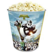 Kung Fu Panda 3 fém popcorn vödör