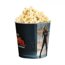Marvel Kapitány dombornyomott popcorn vödör