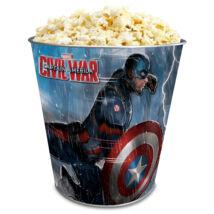 Amerika Kapitány: Polgárháború fém popcorn vödör