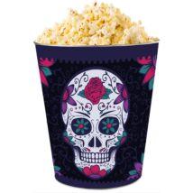 Halloween 2018 giga dombornyomott popcorn vödör - fekete