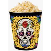 Halloween 2018 giga dombornyomott popcorn vödör - sárga