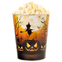 Halloween dombornyomott popcorn vödör