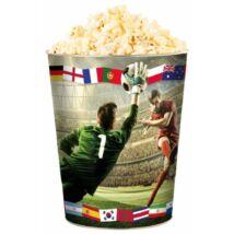 Foci VB 2018 dombornyomott popcorn vödör