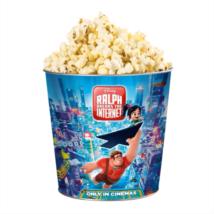 Ralph lezúzza a netet dombornyomott popcorn vödör