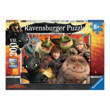 Így neveld a sárkányodat 200 darabos XXL puzzle