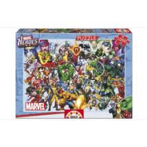 Marvel hősök puzzle 1000 darabos