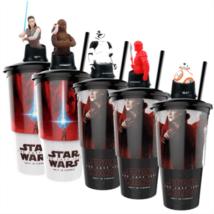 Star Wars: Az utolsó Jedik pohár és topper szett popcorn tasakokkal + ajándék persely
