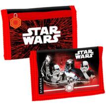Star Wars pénztárca fekete-piros tépőzáras kivitel