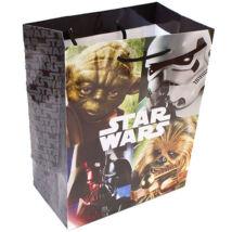 Star Wars ajándéktáska - Klasszikus karakterek - közepes méret