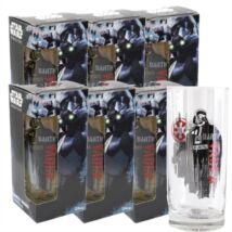 Zsivány Egyes - Darth Vader üvegpohár szett + ajándék Zsivány Egyes persely
