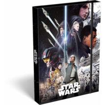 Star Wars: Az utolsó Jedik füzetbox A4