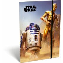 Star Wars gumis mappa A5 - R2-D2 és C-3PO