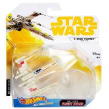 Hot Wheels - Star Wars Vörös ötös X-szárnyú vadász csillaghajó