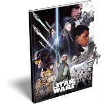 Star Wars: Az utolsó Jedik keményfedeles emlékkönyv A/5