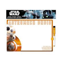 Star Wars üzenőtábla letörölhető filctollal  - BB-8
