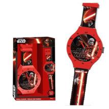 Star Wars: Az ébredő Erő karóra alakú falióra
