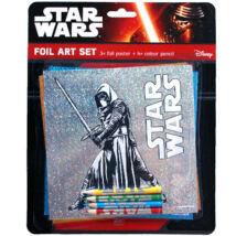 Star Wars - Kylo Ren fóliás színező szett