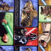 Star Wars klasszikus karakterek csomagolópapír