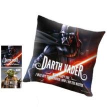 Star Wars: Darth Vader és Yoda kétoldalas díszpárna
