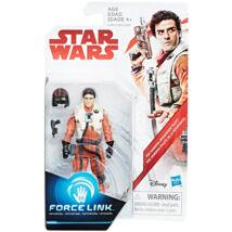 Star Wars: Az utolsó Jedik - Poe Dameron Force Link figura