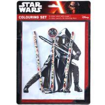 Star Wars - Kylo Ren színező szett radírral