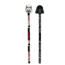 Star Wars grafit ceruza szett Darth Vader és rohamosztagos formaradírral